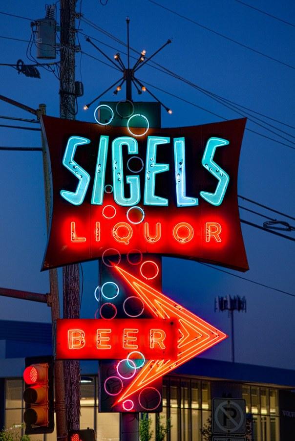 Sigels Liquor - Dallas, Texas U.S.A. - April 21, 2009