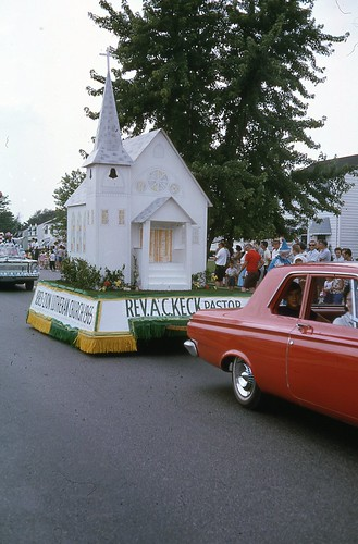 Maple Heights July 4th parade 1965