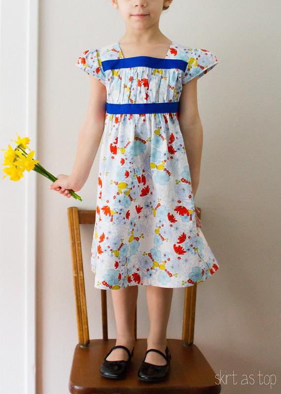 meadow garden party dress