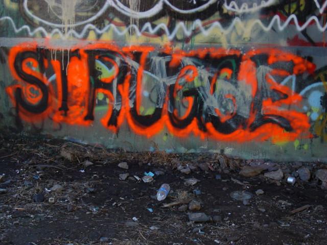 graffiti struggle