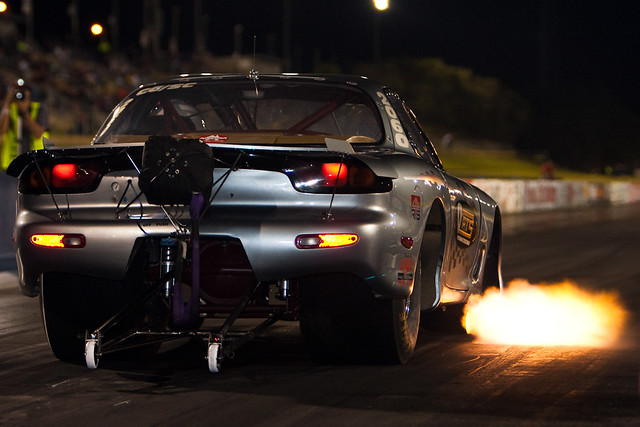Mazda RX-7 Drag Fire