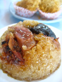 Steamed glutinous rice 糯米鸡