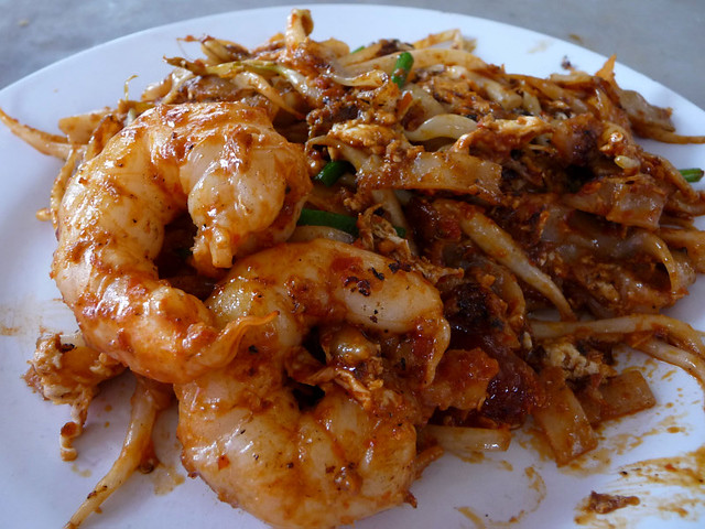Penang Aug 09 - 21 Extra spicy Char Kuey Teow, Lorong Selamat, by Suanie, on Flickr