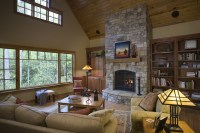 stone-fireplace-vaulted-ceiling | Flickr - Photo Sharing!