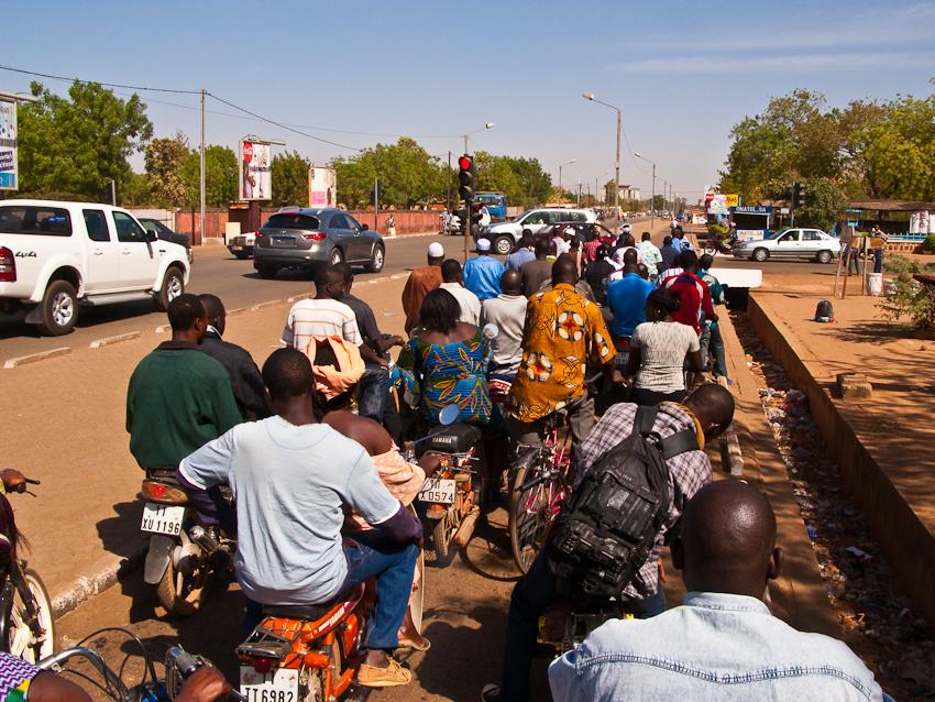 Verkehr in Ouaga