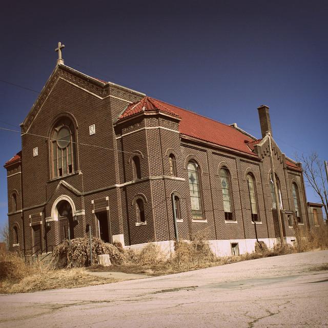 Abandoned Church  Kansas City Mo  By Steve Stone