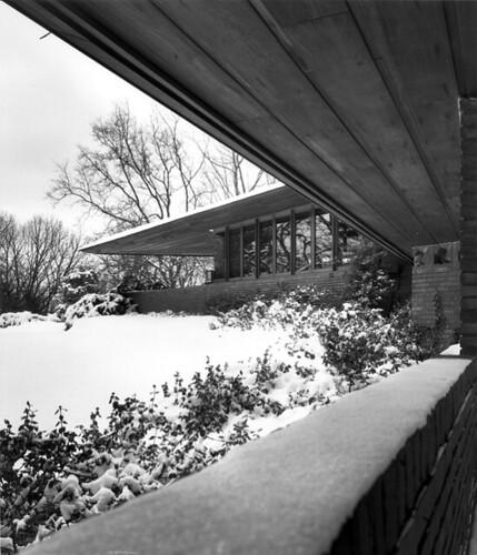 William B. and Mary Shuford Palmer House (1951) Frank Lloyd Wright