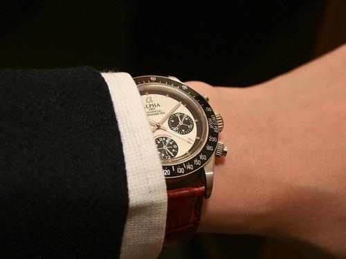 Dress wristshot - Alpha Paul Newman