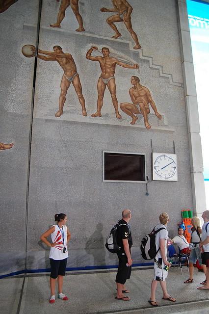Impressive mosaic at Roma 09