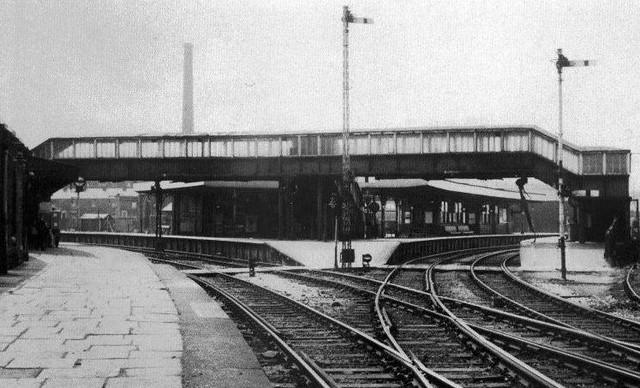 Accrington Railway Station 1966 1848 Accrington to
