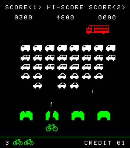 Road Space Invaders