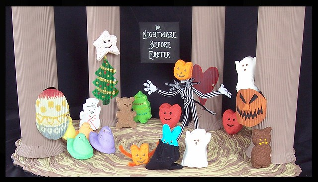 The Nightmare Before Easter My 2009 Peeps Diorama