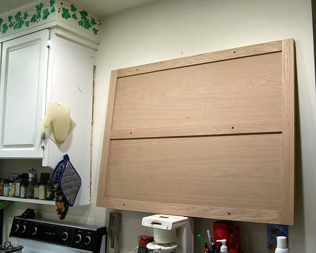 Kitchen Wall Cabinet  back panel  Flickr  Photo Sharing