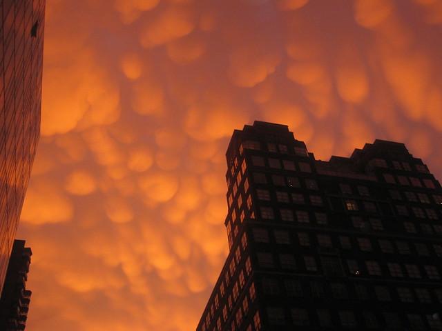 Clouds over Upper East Side, Manhattan