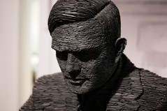Alan Turing by Michael Dales
