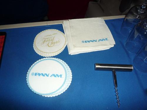 Pan Am Napkins