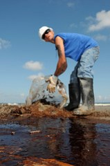 Collecting Oily Waste