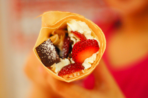 Crepes goodness