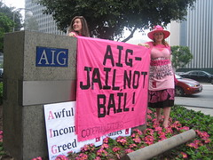 AIG - Jail Not Bail!