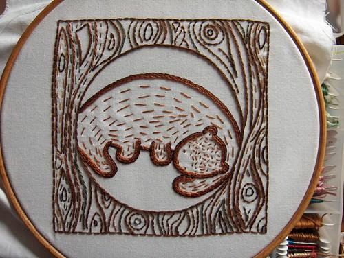 Hibernating Bear by glazedangel101
