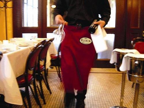 Elixir Restaurant Waiter