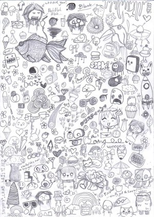 doodle random examples doodles drawings inspiration snippy drawing awesome doodling simple artist fun draws patterns creative variety flickr celebrating richworks
