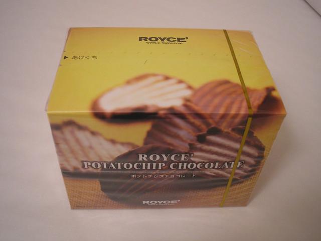 Royce Potatochip Chocolate