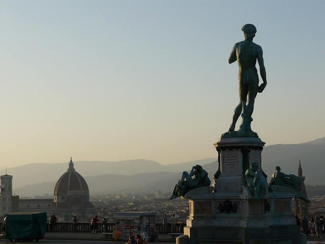 Piazzale Michelangelo by Guillaume_39 on Flickr