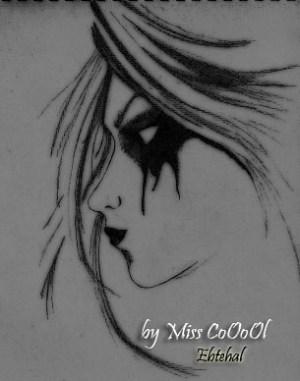 dark drawing hand drawn