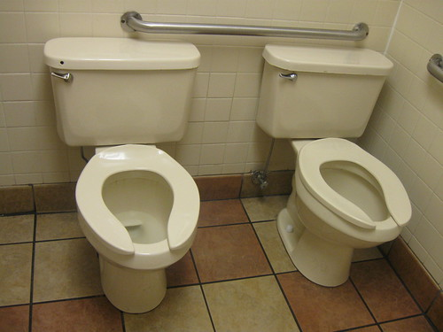 No stalls, just shitters.
