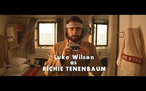 Luke Wilson as Richie Tenenbaum