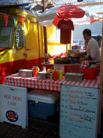 hamburger food cart portland
