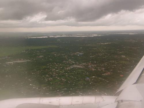 Aerial View of Myanmar
