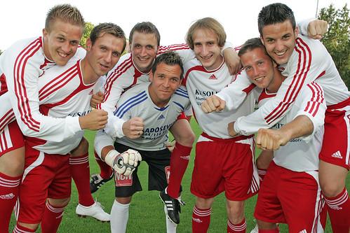 2009-07-23 SC Brunn - Schmidt - Maucha - Koch - Prcek - Haselmayer - Lämmermayer - Hofecker 0007