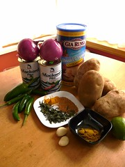 Fish Cutlet Ingredients