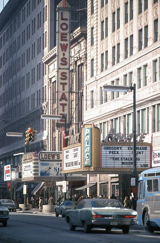Loews State Theatre Cleveland Ohio Jan 1969