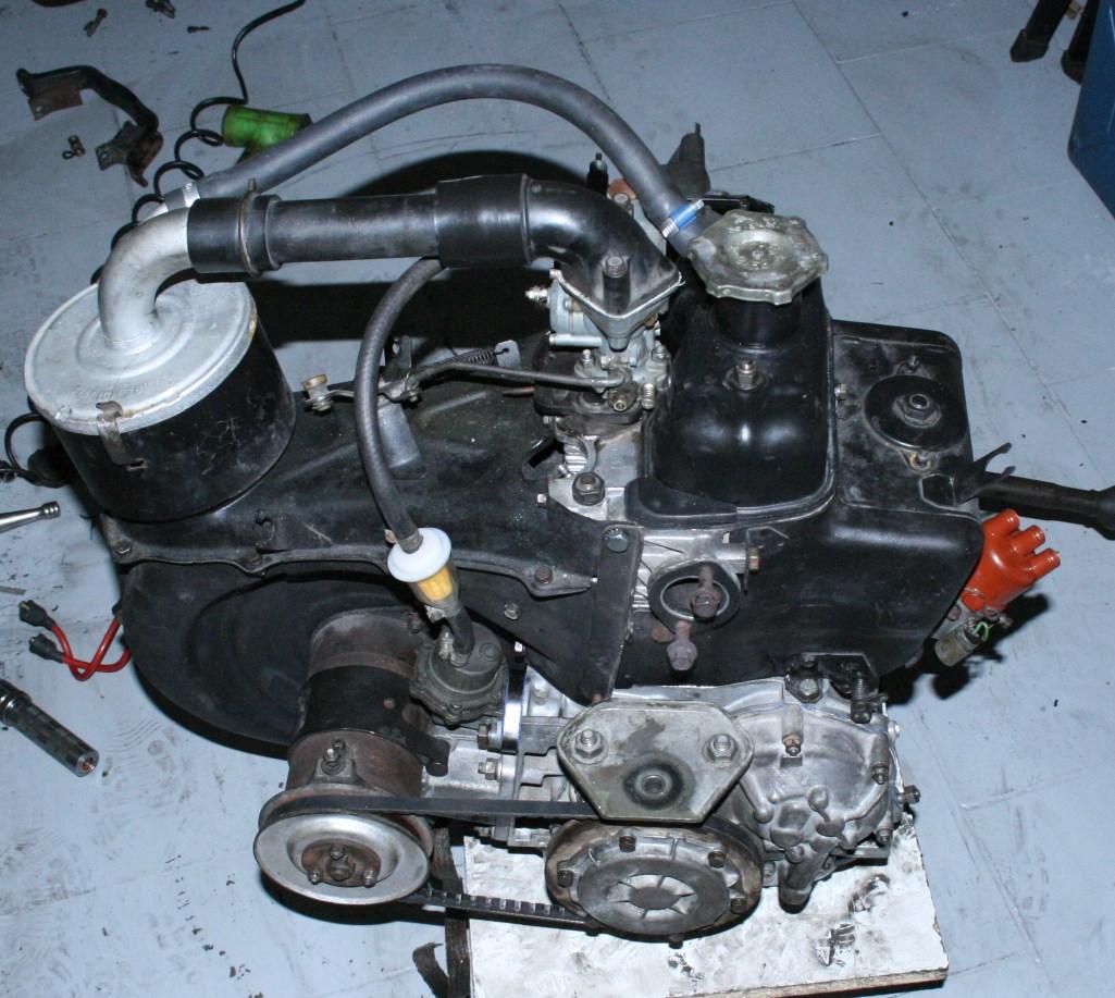 hight resolution of fiat 500 engine