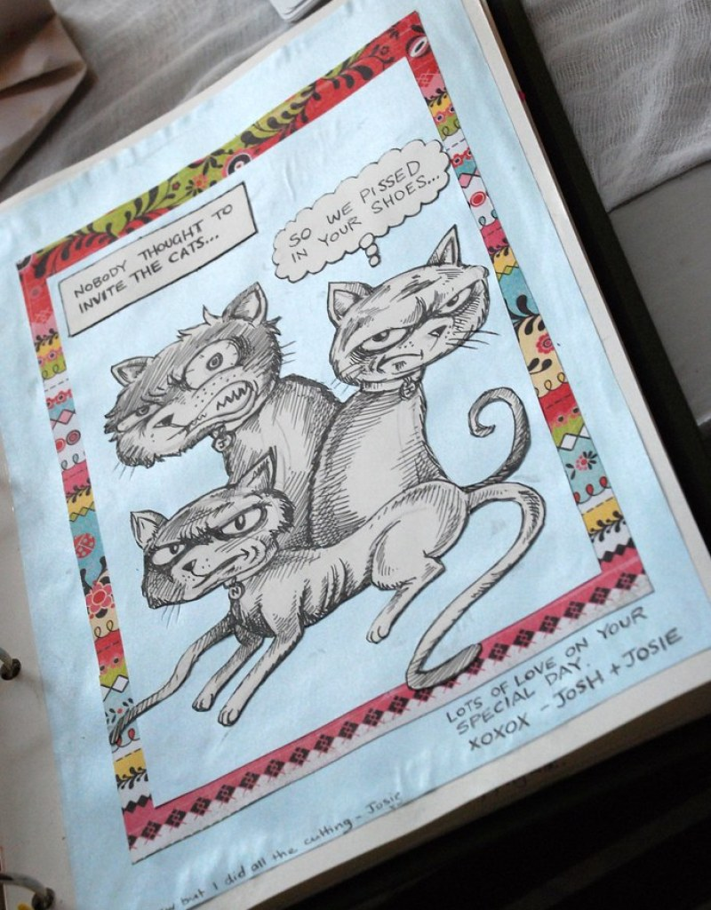 a guest book page