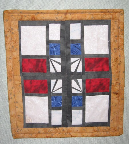 Carol's Stained Glass Wall Hanging