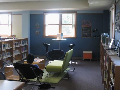 Elanco Library teen room