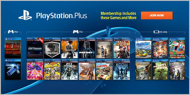 PlayStation Plus 3-11-2014