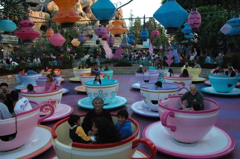 What a fun - Disney Land, Calif, USA