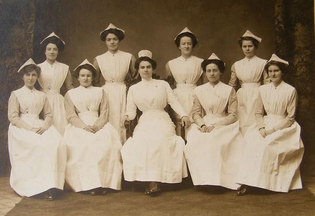 Training School For Nurses Historical Early 1900 S Gradu