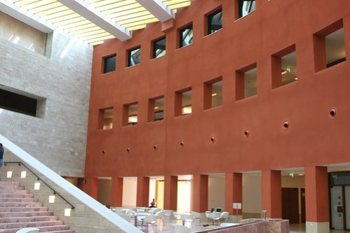 Inside of Carnegie Mellon University's Qatar Campus