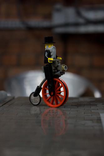 Lego Penny Farthing