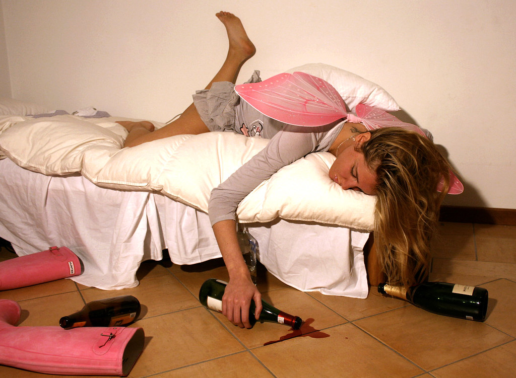 Chiara Ferragni betrunken