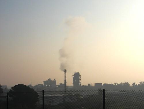 Contaminacion Fabrica  Cemento Cosmos Cordoba Invierno 2009