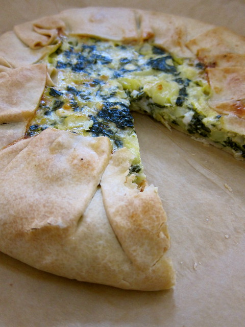 Torta Verde — Chard and Potato Tart