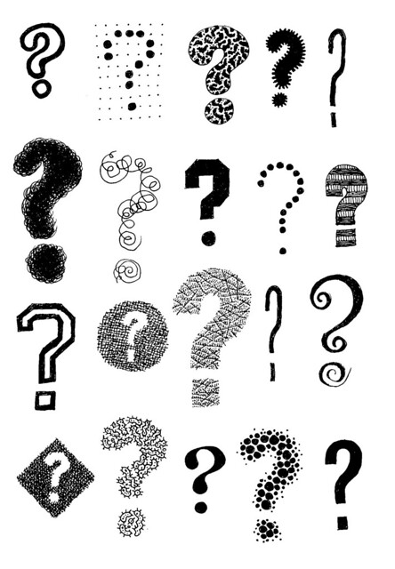 Question Marks by Dan Moyer via Flickr