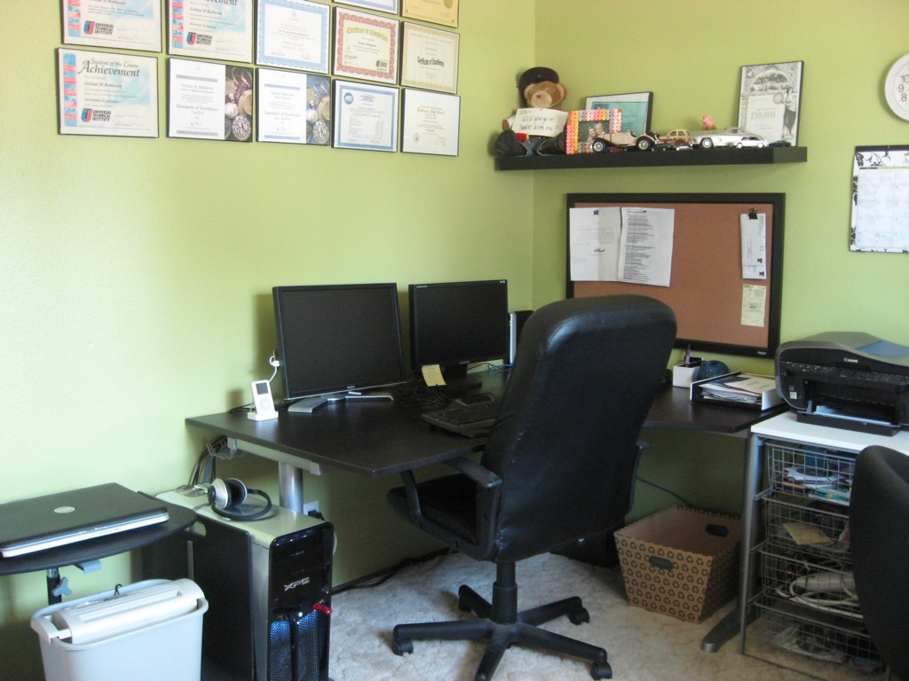 Joshua's Side of the Office